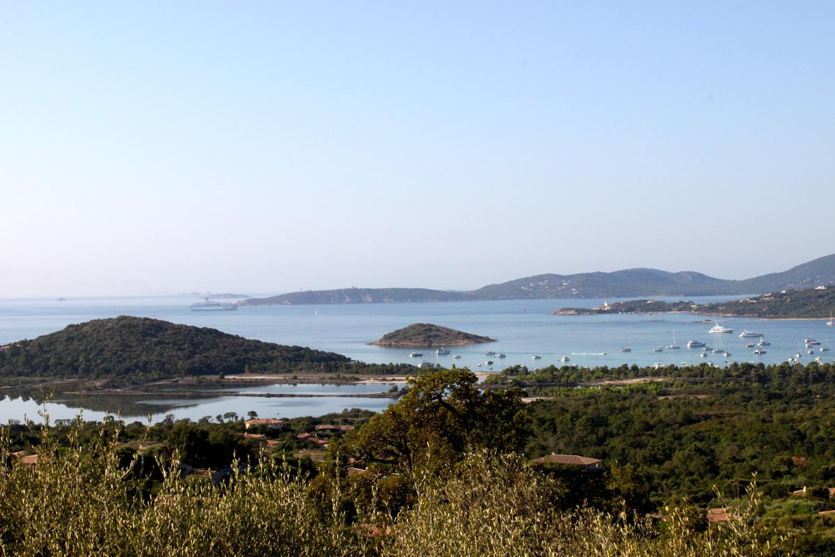 Terrain avec vue panoramique sur la baie de St Cyprien et le Golfe de Porto Vecchio - Ref N15