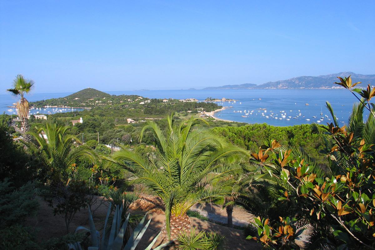 Terrain constructible face à la presqu'île d'Isolella - Rive sud du golfe d'Ajaccio - Ref M10