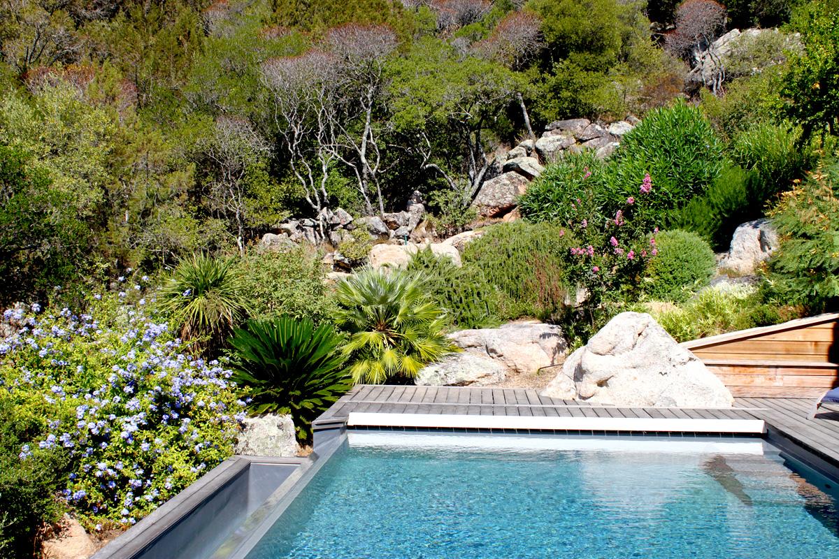 Villa proche de la plage de Palombaggia - Ref N02-1