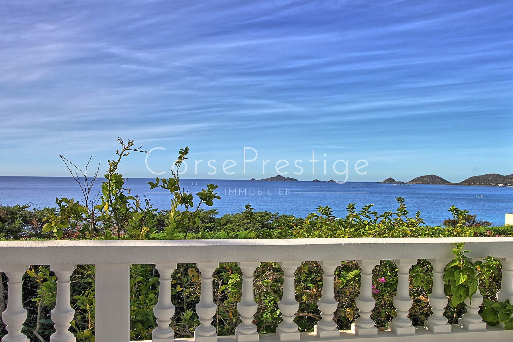 WATERFRONT VILLA ON THE COASTAL SANGUINAIRES ROAD - EXCLUSIVITY - REF N78